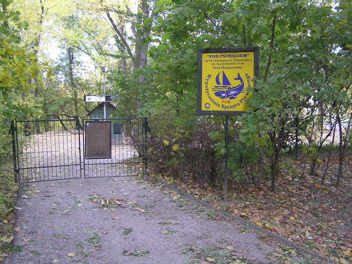 Pub pod Pstrągiem wParku Skaryszewskim