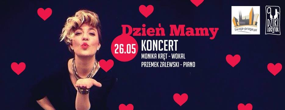 Koncert Monika Kręt na Pradze