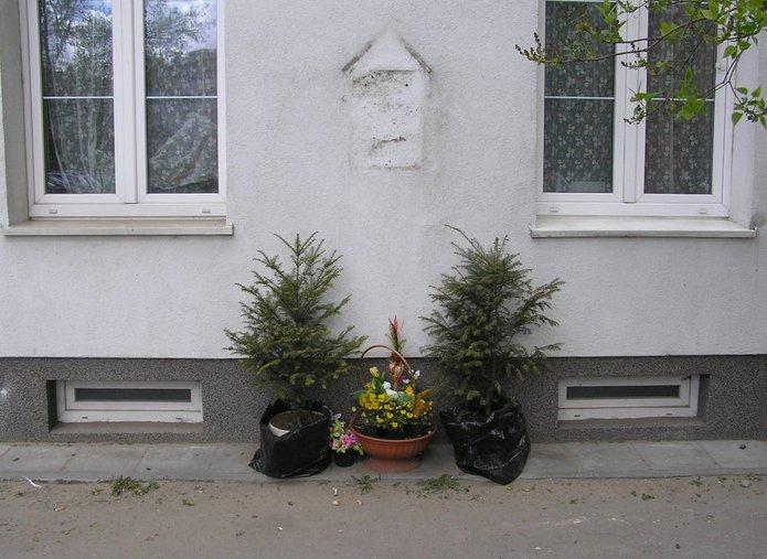 Skaryszewska 2. Miejsce po kapliczce