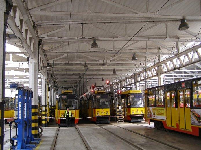 Zajezdnia Praga, fot. PSM Michałów