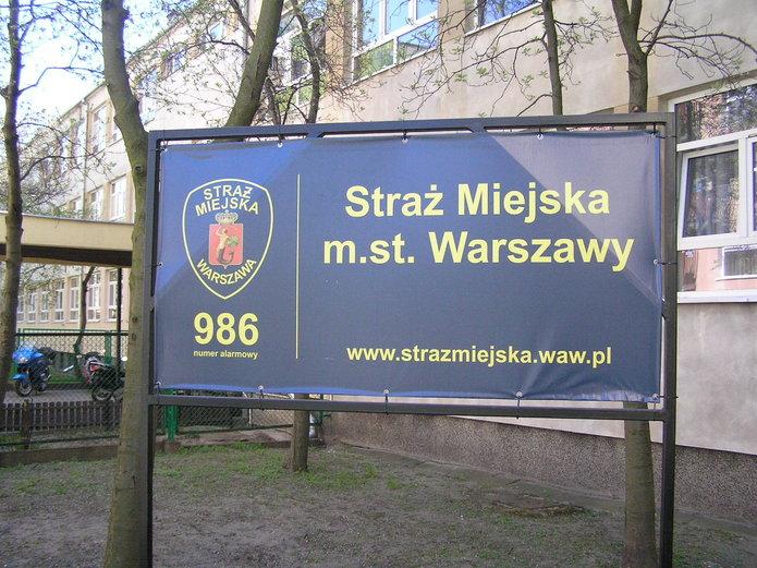 Budynek straży miejskiej przy ulicy Kobielskiej 5