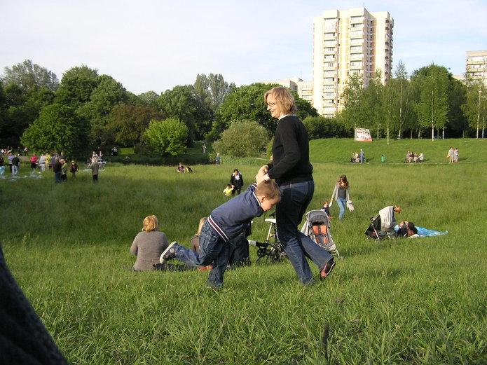 Rodzinny piknik na Błoniach Elekcyjnych