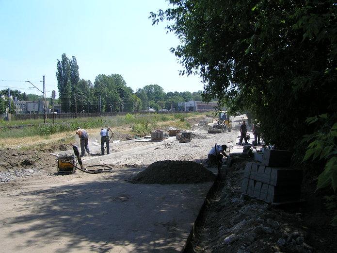 Trwa przebudowa ulicy Makowskiej