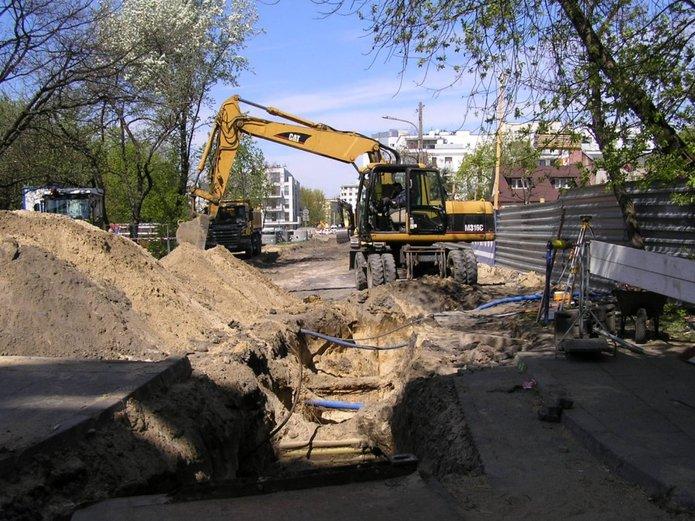 Trwa przebudowa ulicy Kruszewskiego