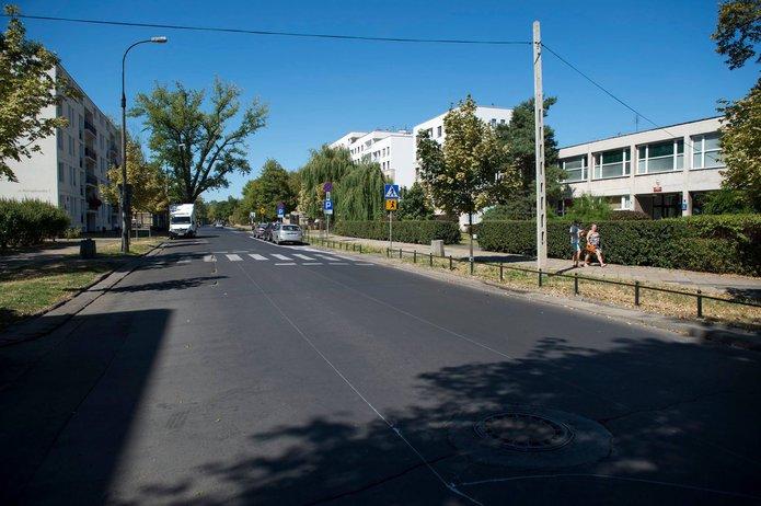 Ulica Namysłowska, fot. ZDM