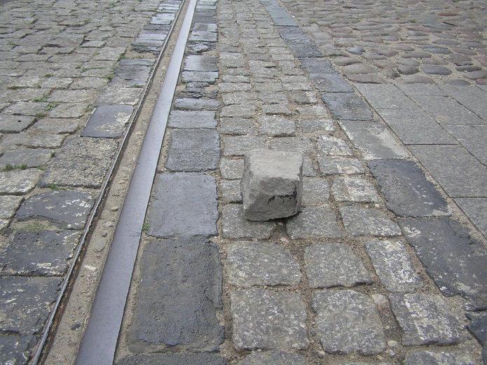 Remont ulicy Kawęczyńskiej fuszerką