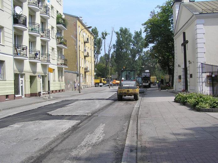 Skaryszewska zamknięta dla ruchu wdniach 25-26 lipca 2015