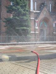 Kurtyna wodna na Placu Weteranów 1863