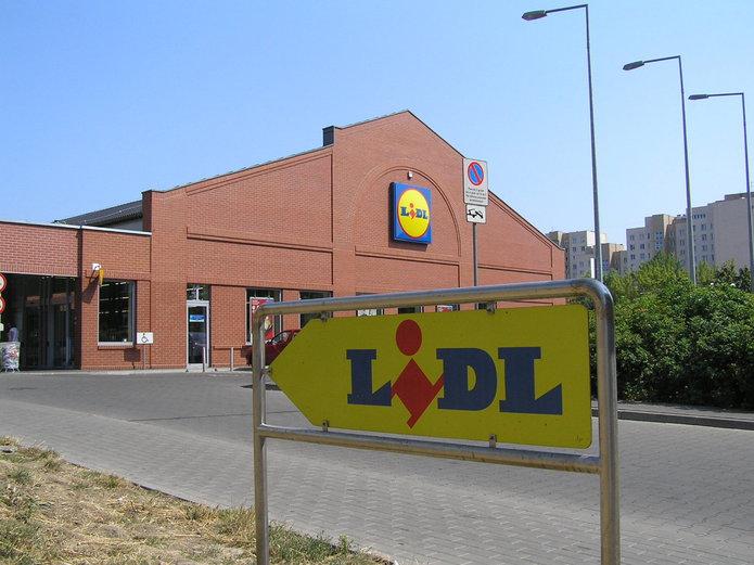 Sklep Lidl przy ulicy Wileńskiej 14