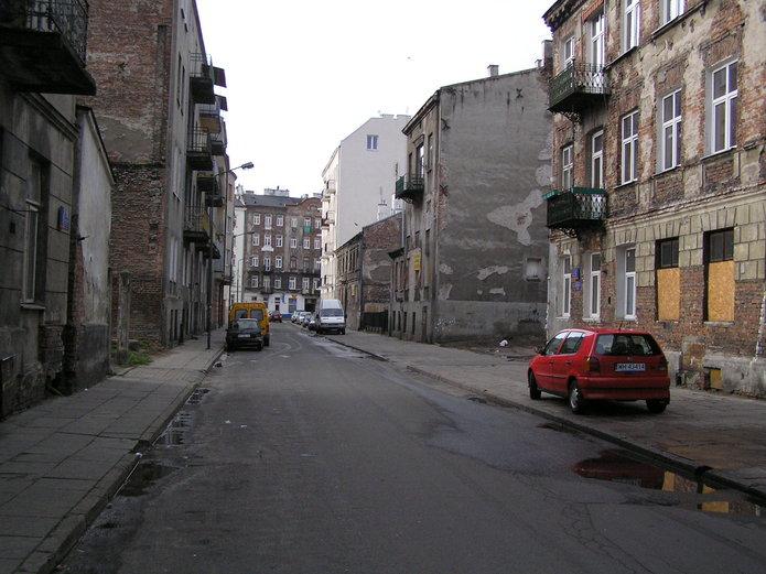 Ulica Mała na Nowej Pradze