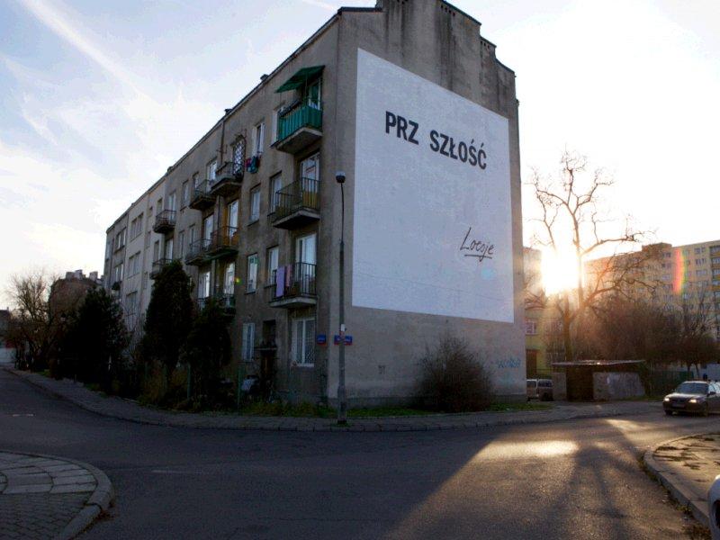 Mural przy Jadowskiej 7 na Pradze Półńoc