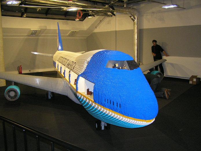 Boeing zklocków LEGO