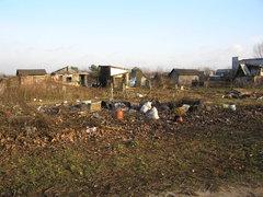 Rozbierane ogródki przy Dworku Wschodnim