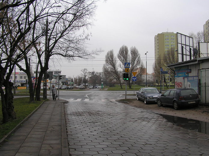 Rezerwa pod Trasę Olszynki Grochowskiej
