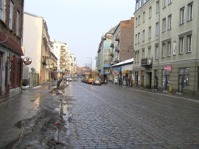Brudna ulica Ząbkowska