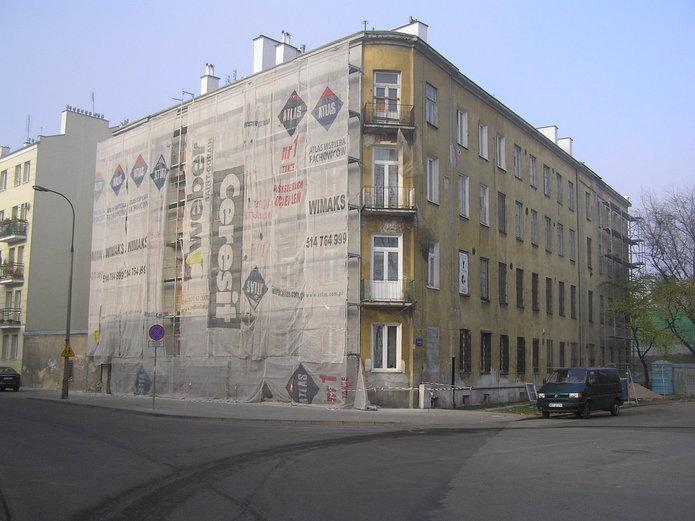 Remont na Skaryszewskiej 15