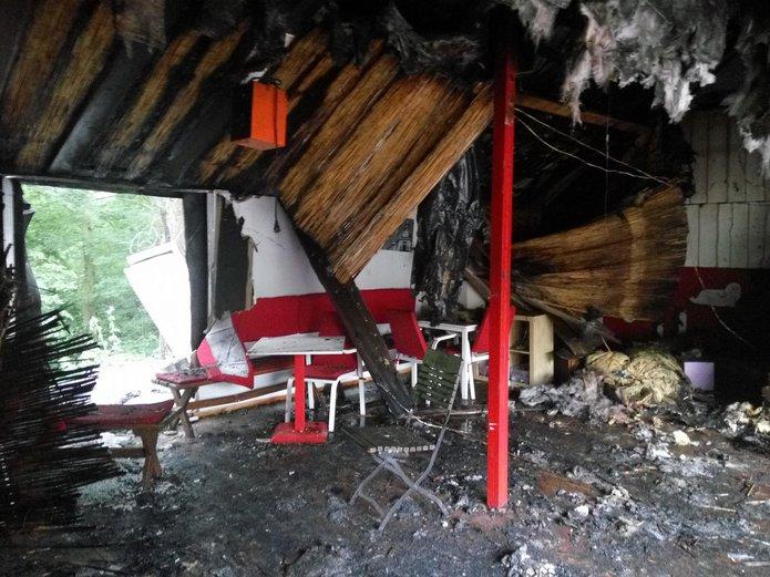 Kawiarnia 8 Stóp po pożarze, fot. 8 Stóp