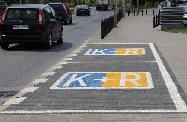 Strefa K+R, fot. ZTM