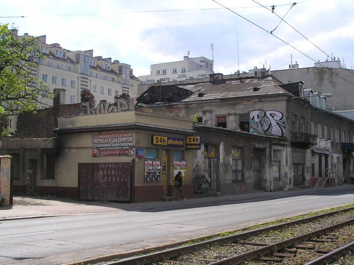 Wyburzenie Grochowskiej 347 i349