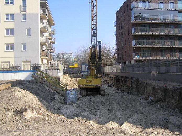 Budowa budynku Zielone Tarasy Beskidzka
