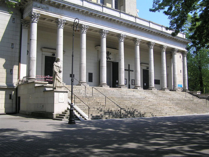 Włamanie do kościoła na Pradze