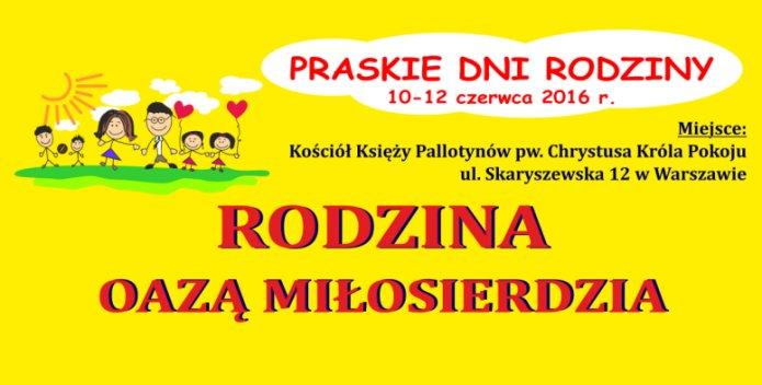 Plakat Praskie Dni Rodziny 2016