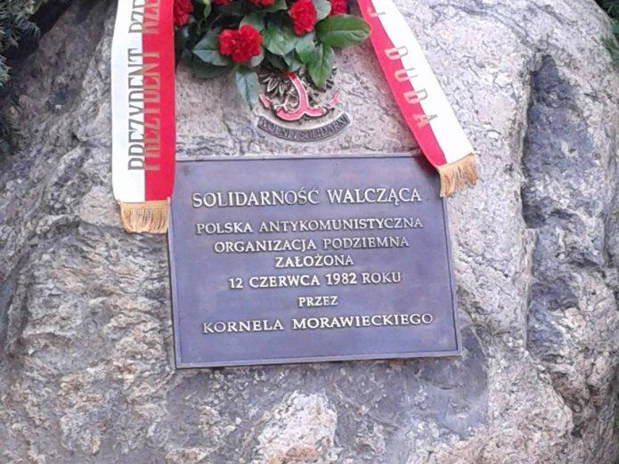 Tablica Solidarność Walcząca na Pradze, fot. Beata Bielińska-Jacewicz