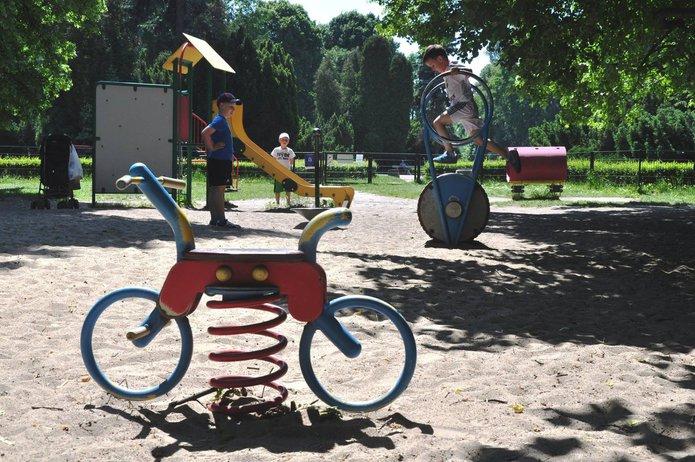 Plac zabaw wParku Skaryszewskim