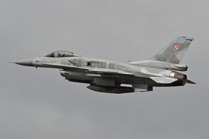 F-16, fot. Alan Wilson