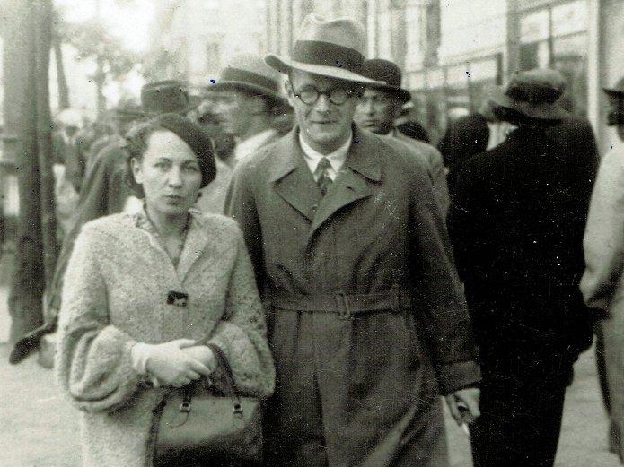 Jerzy iHalina Wesołowscy wWarszawie