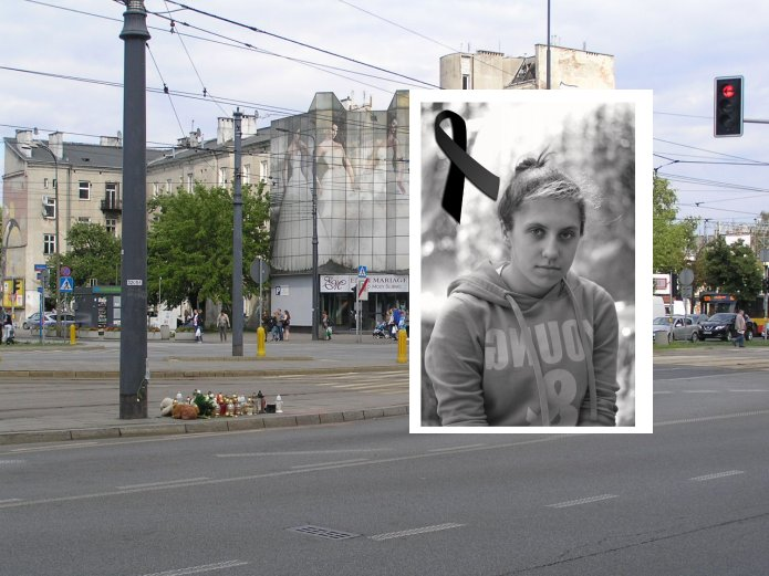 Klaudia zginęła tragicznie potrącona na ulicy Targowej