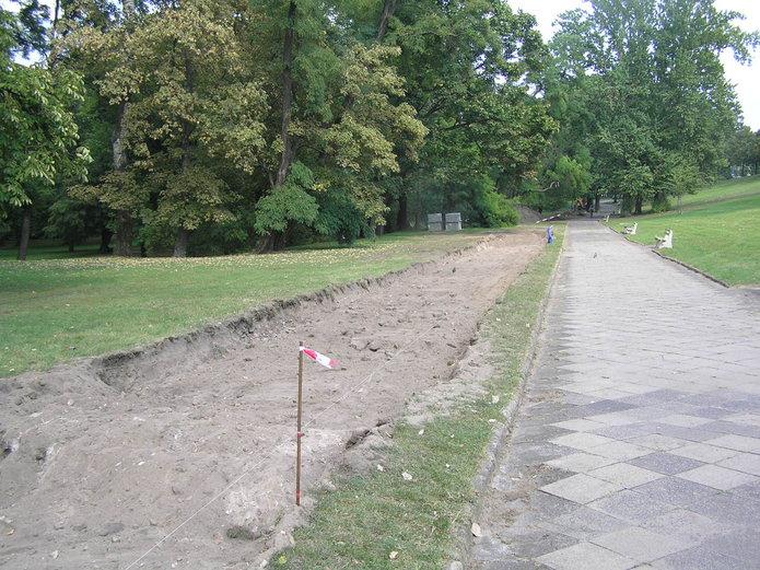 Budowa DDR wParku Praskim
