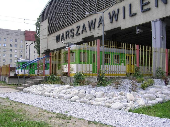 Dojście do dworca Warszawa Wileńska