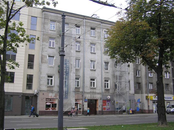 Targowa 27 - remont balkonów