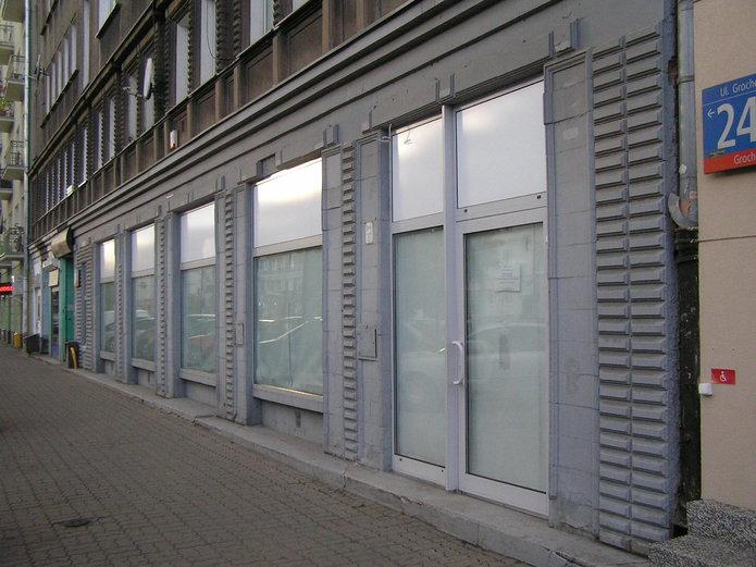 Zamknięta Drogeria Rossmann przy Grochowskiej