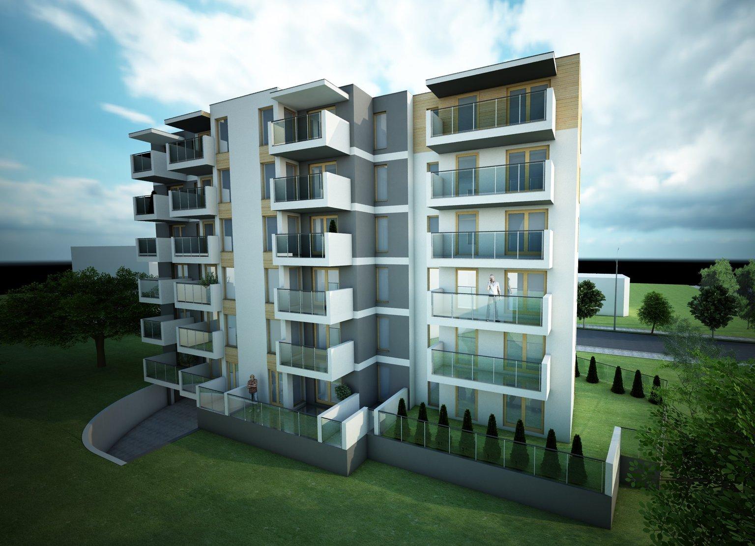Apartementy Szembeka - wizualizacja