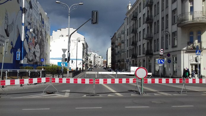 Żywa Ulica izamknięta Ząbkowska, fot. Robert Kazanecki