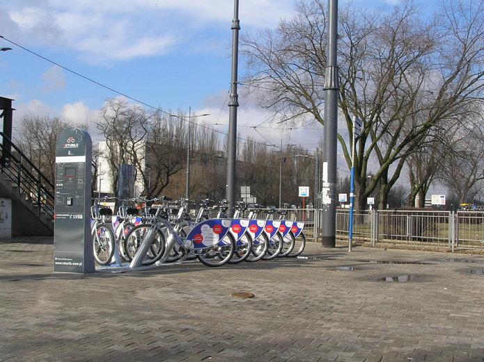 Stacja Veturilo na Gocławku