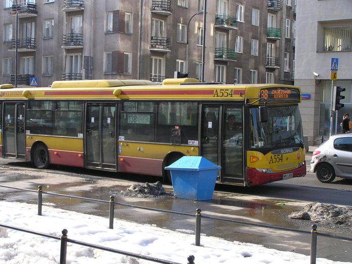 Autobus na Ząbkowskiej