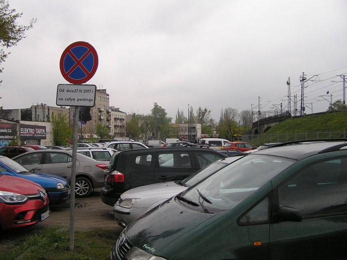 Parking na Targowej zostanie zlikwidowany