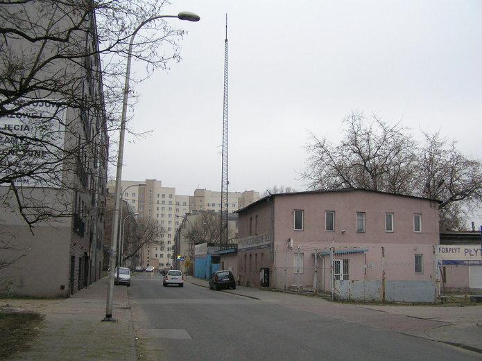 Maszt na ulicy Grodzieńskiej