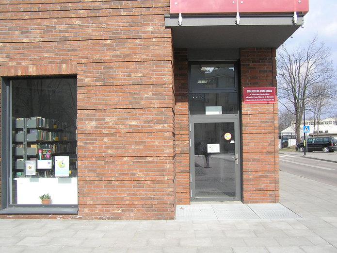 Biblioteka nr 102 na Jagiellońskiej