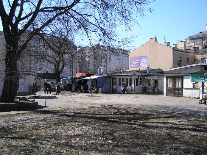 Bazar Rogatka przy Grochowskiej