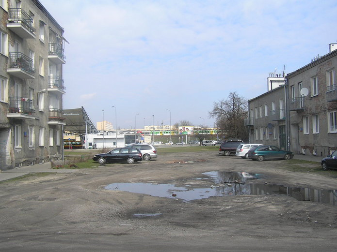Ulica Frycza Modrzewskiego na Kamionku