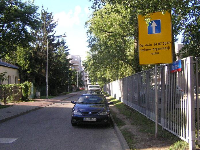 Nowa organizacja ruchu na Biłgorajskiej
