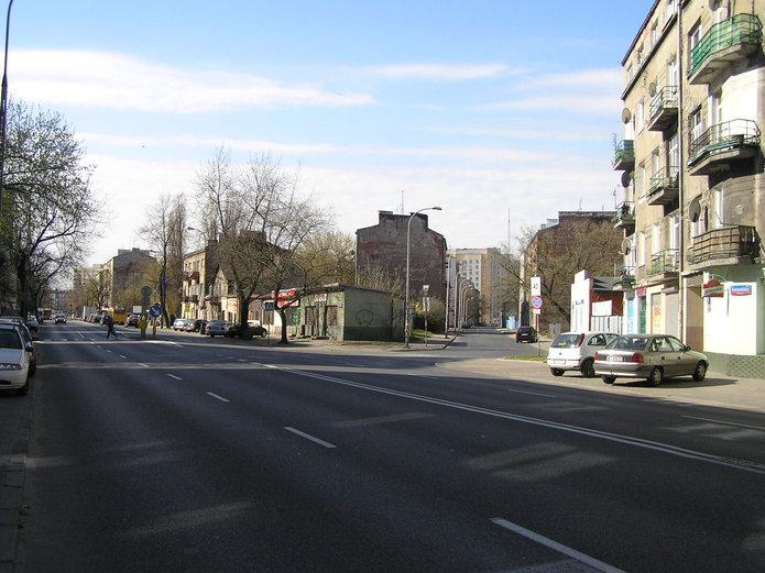 Ulica Radzymińska na Szmulowiźnie