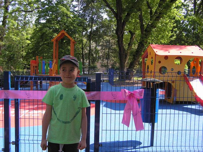 Plac zabaw przy Niekłańskiej