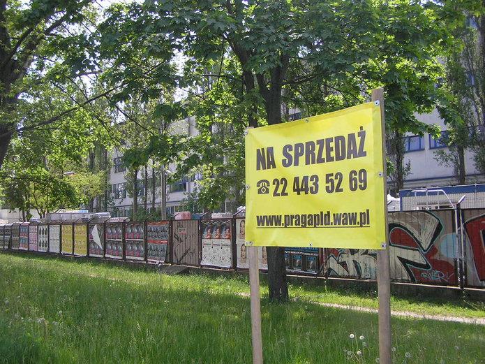 Działka przy Grochowskiej na sprzedaż