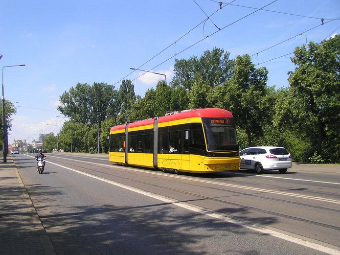Trasa W-Z bez tramwajów