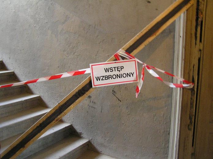 Pustostan do remontu na Pradze